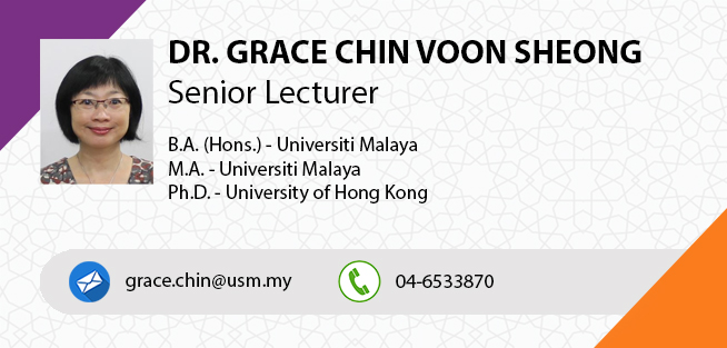 Dr  Grace Chin Voon Sheong